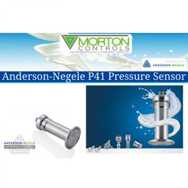 ANDERSON-NEGELE'S NEW P41 PRESSURE SENSOR
