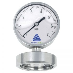 EL Pressure gauge with 90 mm display