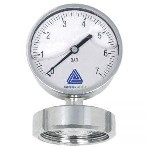 EL Pressure gauge with 90 mm display