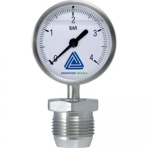 MAN-63 Pressure gauge with 63 mm display