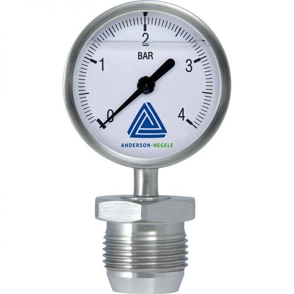 MAN-63 Pressure gauge with 63 mm display